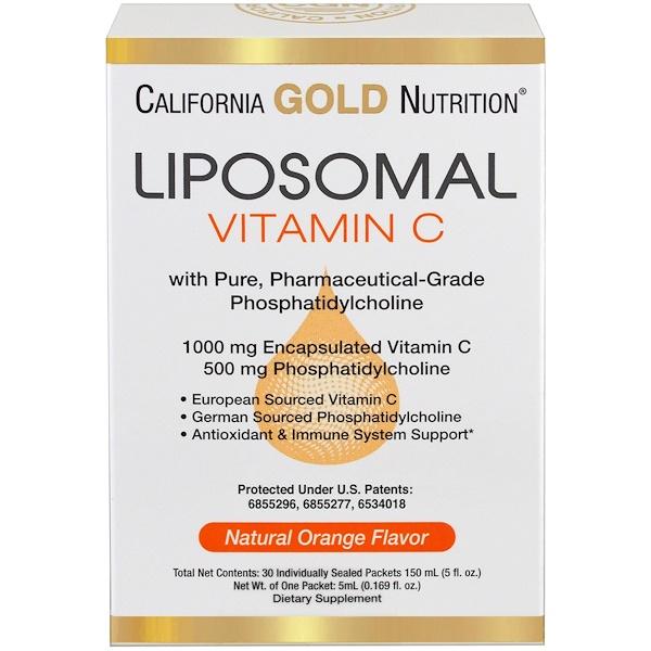 Liposomal vitamin C 5ml