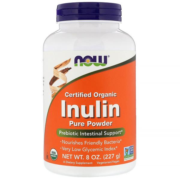 Organic inulin pure powder